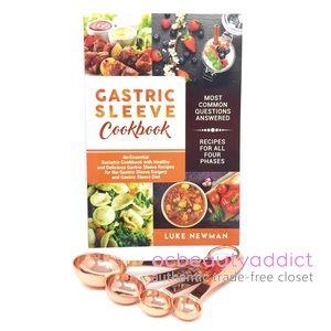 Gastric Sleeve Cookbook + Copper Measuring Spoons
